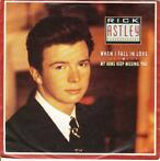 Rick Astley   45-t    When I fall in love  1987