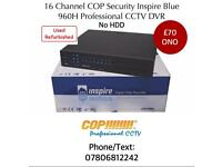16 Channel 960H DVR INSPIRE BLUE