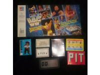 BUNDLE OF GAMES. WWF WRESTLING CHALLENGE, PASS THE PIGS AND MORE
