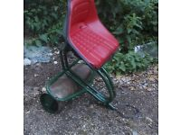 Webb Lawnmower Trailer Roller Seat