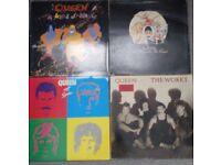 Lot Queen 4 lp Vinyl