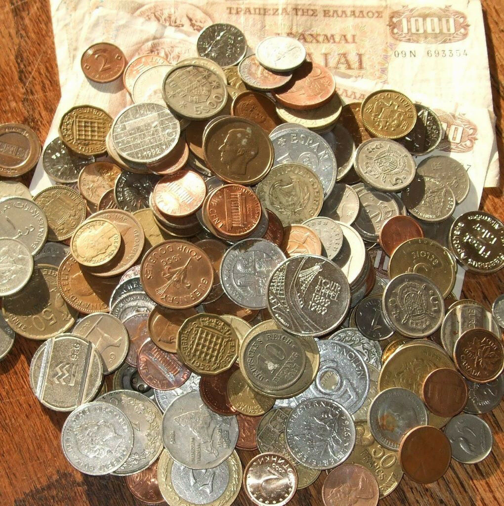Wanted Old British Or Foreign Coins Banknotes Leftover Holiday Money
