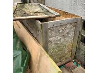 Free wooden box crate