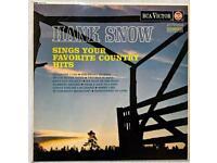 Hank Snow Albums 2xNo