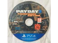 SONY PLAYSTATION 4 PS4 PAYDAY 2 CRIMEWAVE EDITION GAME