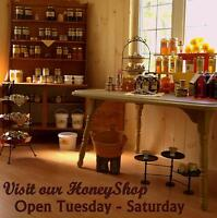 Local Unpasteurized Honey and Beeswax Candles Shop