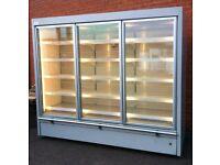 3 Door Capital Cooling Cabinet Sandwiches Meat Dairy Drinks Fridge Multideck Refrigeration