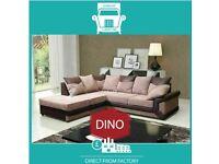 🤢New 2 Seater £229 3 Dino £249 3+2 £399 Corner Sofa £399-Brand Faux Leather & Jumbo Cord𢠧I5