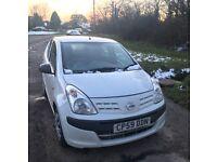NISSAN PIXO EXCELLENT CONDITION! CHEAP CAR £20 ROAD TAX P/Y LOW INSURANCE GROUP. 5 DOOR, PETROL CAR.