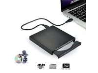 External DVD Reader-Burner Portable Slim USB