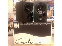 Kef Coda 8 Bookshelf Speakers, Boxed