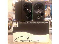 Kef Coda 8 Bookshelf Speakers, Boxed