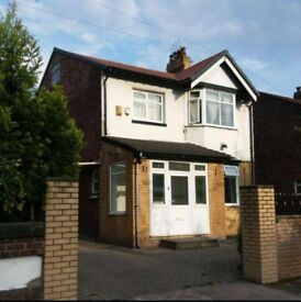 4-Bed Detached House for Rent in East Didsbury, Furnished, Very Spacious, Good Area