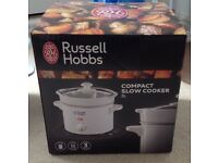 Russell Hobbs white compact slow cooker