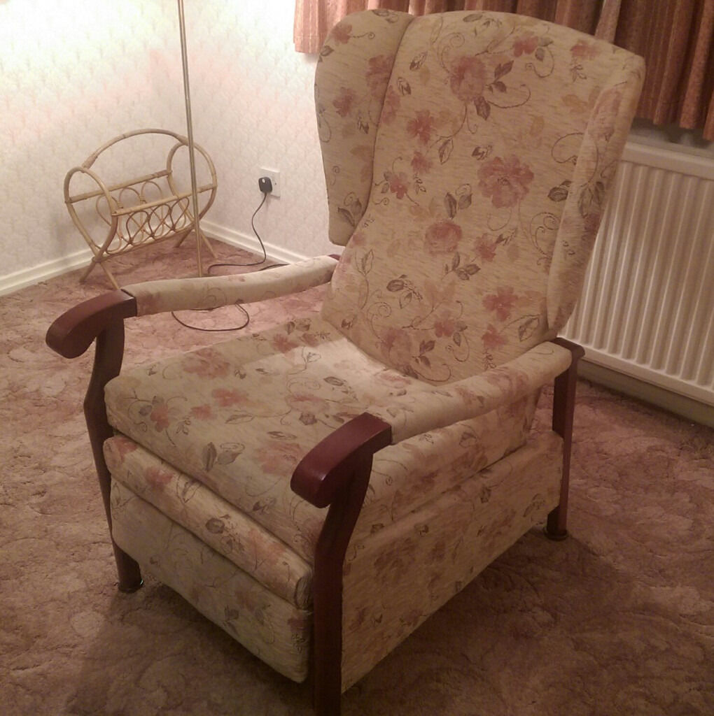 Hsl Recliner Chair Wensley Victoria Terracotta In