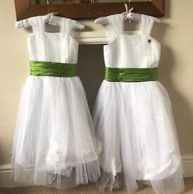 Girls bridesmaid dress ages 6-7 & 10-11