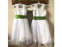 Girls bridesmaid dress ages 6-7 & 10-11