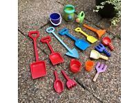 Job lot children garden / sandpit / beach toys