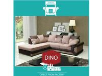 🤒New 2 Seater £229 3 Dino £249 3+2 £399 Corner Sofa £399-Brand Faux Leather & Jumbo Cord𢎭M7