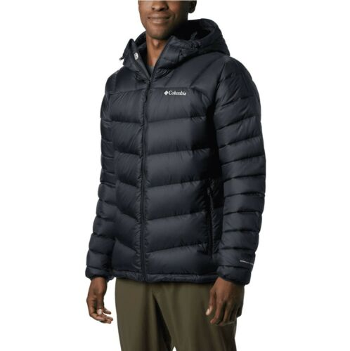 Columbia Mens Centennial Creek Down Hooded Jacket M OMNI-HEA