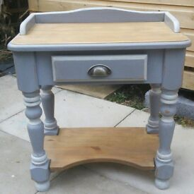 Shabby chic console table/desk