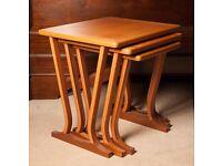 Parker Knoll Teak Nest of Tables, £95! Bargain.