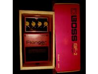 BOSS BF-2 FLANGER FOOT PEDAL - With Box