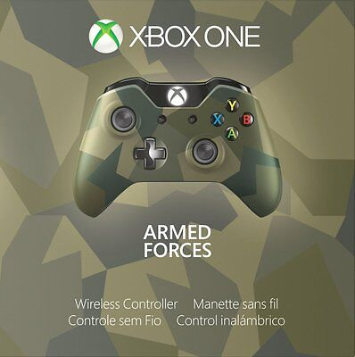 Genuine Xbox One Special Edition Armed Forces Wireless Controller   Gk4 00042 Vg