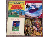Vinyl Album and 12 Inch Singles