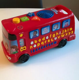 VTEC playtime bus with phonics ,letters ,numbers (asnew)