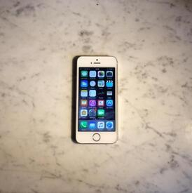 iPhone 5s Gold 16GB Locked to 02