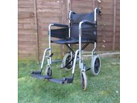 DAYS Healthcare Escape Lite Lightweight foldable Wheelchair Model 338S FREE DELIVERY IN MY RANGE LE3