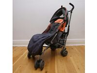 Maclaren Quest buggy in good condition with foot muff and rain cover