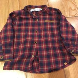 Zara baby boy shirts