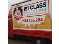 1st Class Removals & Storage