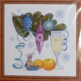 Riolis Christmas (Xmas)/New Year Cross Stitch Kit