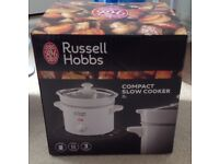 Russell Hobbs compact slow cooker white