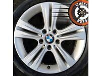 "17"" Genuine BMW 3 series Sport alloys Renault Trafic Vivaro excel tyres."