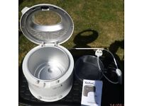 Tefal deep fat fryer, used once in as new condition.