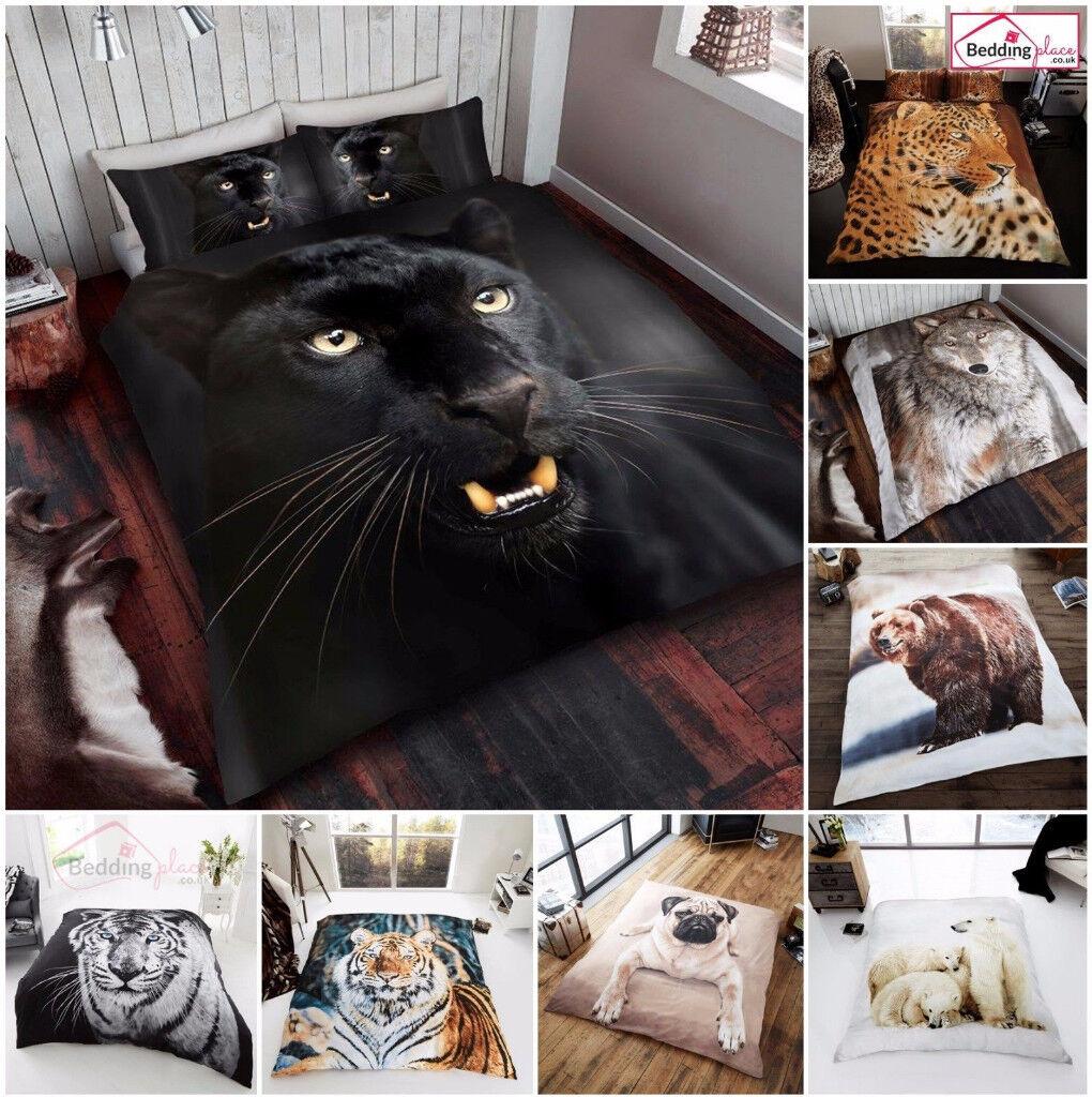 3D Animal Print Effected Mink Faux Fur Throw / Fleece Blanket
