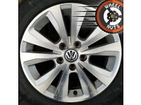 "16"" Volkswagen Golf Toronto alloys good cond excel match tyres."