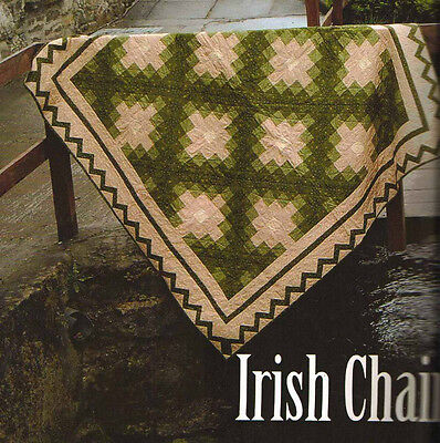 Irish Ireland Inspired Country Quilts Pat Sloan Beautiful Quilting Pattern Book