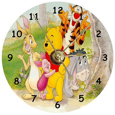 Winnie The Pooh And Friends Cd Clock