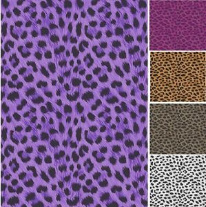 LEOPARD TIGER ZEBRA PRINT LUXURY WALLPAPER JUNGLE ANIMAL PRINT 10M ROLL 5 DESIGN