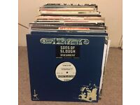 "Collection Lot of 120 Breaks vinyl records (12"")"