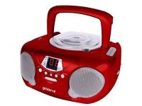 Groov-e Boombox Portable CD Player