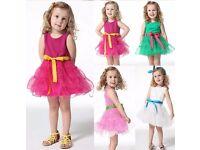 Girls Tutu Dress (Pink)