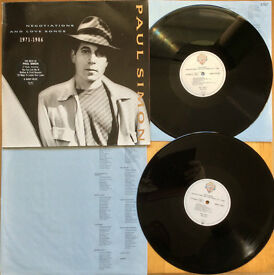 PAUL SIMON Negotiations And Love Songs 1971-1986 DOUBLE LP 17 Track EX