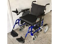 Extra Large travel electric wheel chair - Wheel Tech Energi 22inch wide