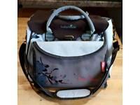 Brown/ cream large babymoov changing bag